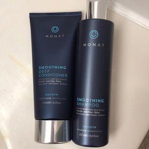 Monat smoothing shampoo + conditioner
